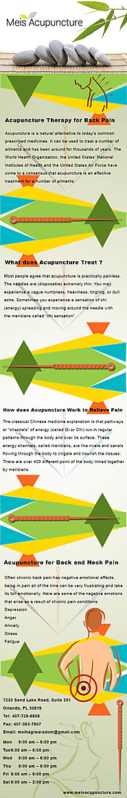 Acupuncture Treatment of Neck Pain