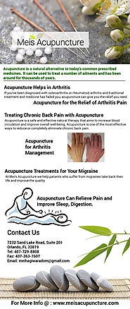Acupuncture Helps in Arthritis