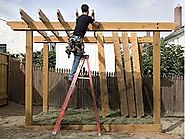 Cleaning Related Instructions for Patios and Pergola Installations