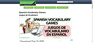Spanish Vocabulary Games and Activities - Juegos de vocabulario español - Woodward Spanish