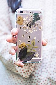 Pressed Flower Phone Case DIY