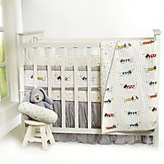 Shop Puppy Love Nursery Baby Bedding Sets Collection at Little West Street