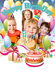 Happy Birthday Photo Frames HD