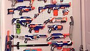 My personal Nerf wall