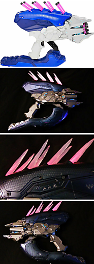 Halo Series hand painted* Covenant Needler