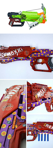 Painted Nerf Guns Look Like They Come From The Future A Listly List