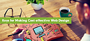 Keys for Making Cost effective Web Design - SaremcoTech