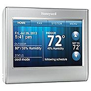 Honeywell Smart Thermostat, Wi-Fi, Touchscreen, Works with Amazon Alexa