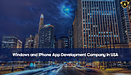 Windows and iPhone App Development Company in USA