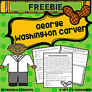 FREEBIE! George Washington Carver Comprehension Passage