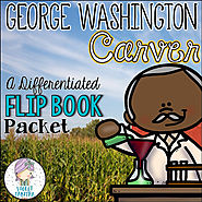 George Washington Carver Differentiated Flip and Snip Books