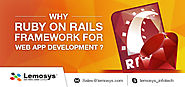 20 Reasons that force you to choose Ruby on Rails Framework for Development