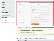 Configurable Product Creation In Magento