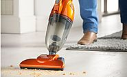 VonHaus 600W 2-in-1 Corded Upright Stick & Handheld Vacuum Cleaner with HEPA Filtration - Includes Crevice Tool & Bru...