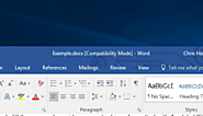 "What Is ""Compatibility Mode"" in Microsoft Office?"