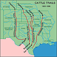 Texas Cattle Drives