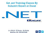 Get .net training classes by industry expert at ducat