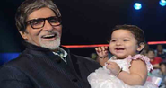 Aaradhya sings song for big b on his birthday