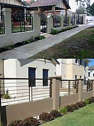 Elegant Wrought Iron Fences Perth | Fencing Perth | Wrought Iron Factory