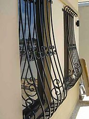 Wrought iron doors at Wroughtironfactory