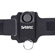 SABRE Runner Personal Alarm - 130dB with Adjustable/Reflective/Weather-Resistant Wrist Strap