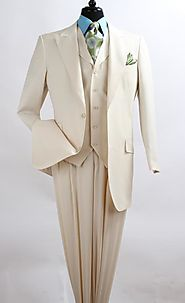 Perfect Look With Cream Linen Suit