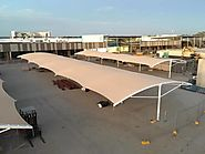 Shade Structures For Car parking