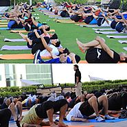 Where is a place to learn yoga in Dubai with an Arabic trainer?