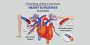 Checklist Of The Common Heart Surgeries Available – Heart Care Hospitals