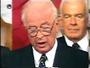 Shimon Sheves - Yitzhak Rabin speaks about the Washington declaration