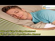 Natural Ways To Stop Nocturnal Emissions In A Cost-Effective Manner