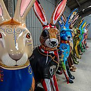 GoGoHares by Break in Norwich in 2018