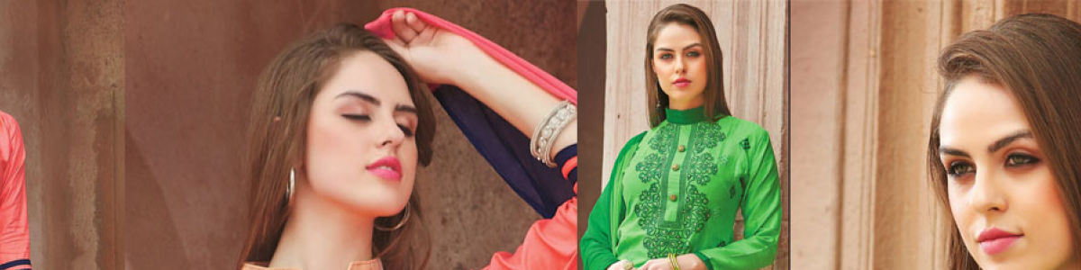 Headline for New Arrivals of Latest Designer Salwar Kameez at Folkfashions