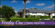 Fernley One Condo RENTED! 2886 Fernely Drive E #5, West Palm Beach, FL