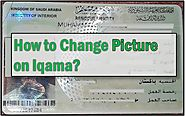 10 steps to Change the Picture on Iqama?
