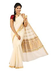 Off White Saree J011 - 33952-001