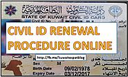 How to Renew Kuwait CIVL ID ONLINE