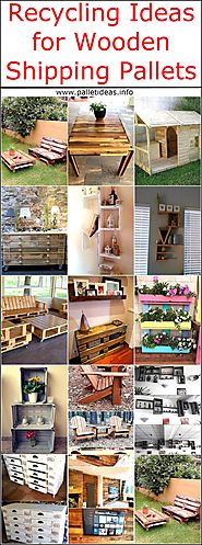 Recycling Ideas for Wooden Shipping Pallets