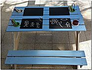 Baby / Kiddies Pallets Picnic Table