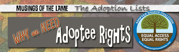 Headline for Why Adoptee Rights