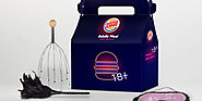 Burger King Offers an Adults-Only Valentine's Day Meal, With a Different Kind of Toy Inside