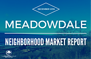 DECEMBER 2016 - Meadowdale Neighborhood Market Report [Infographic] » The Madrona Group
