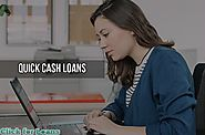 Quick Cash Loans- Instant Loan Solution for Emergency Financial Worries