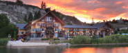 Summerland Waterfront Resort Hotel in the Okanagan British Columbia, Canada