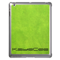 Personalized Grungy Green iPad Cases from Zazzle.com