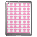 Pink Diamond Patterned iPad Cases