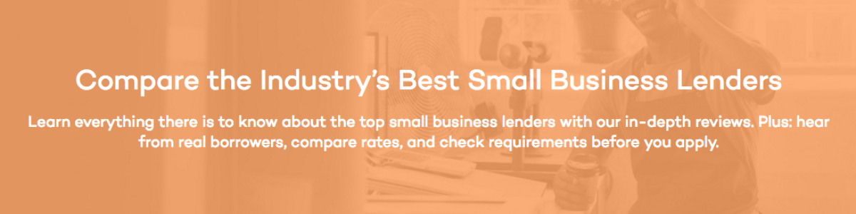 Headline for Reviews for Best Small Business Loan Lenders