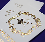 Luxury and Cheap Gold Foil Business Cards, 450gsm