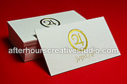 Luxury and Cheap Gold Foil Business Cards | 400 gsm