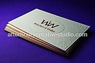 Special effects of Cheap Gold Foil Business Cards| 450gsm
